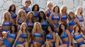 Detroit Pistons: Automotion Dancers