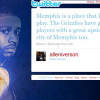 Allen Iverson Tweets About Wanting To Play in Memphis