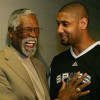 Tim Duncan is to Bill Russell, as Bill Russell was to Jackie Robinson