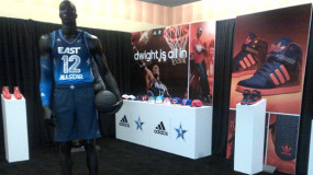 adidas Display At 2012 All-Star Weekend