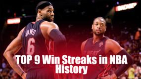 Top 9 Win Streaks in NBA History