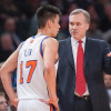 Jeremy Lin and Mike D'Antoni Texting Buddies