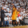 Paul George and Frank Vogel Don't Like Sleeved Jerseys