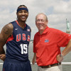 Melo Still Seeks Advice from Former Coach Jim Boeheim