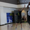 Kemba Walker Works Out During 2014 Under Armour Elite 24 Practice In ClutchFit Drive