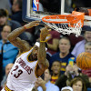 Watch: Lebron Dunks Half-Court Alley-Oop From JR Smith