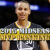 2015 NBA MVP Rankings – Midseason Edition