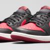 Air Jordan 1 Retro Low OG – Black/Red