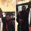 Bismack Biyombo Buys Clothes, Dinner for Homeless Man