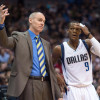 Watch: Rajon Rondo and coach Rick Carlisle Have Heated Exchange During Timeout