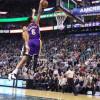 Watch: Lakers' Jordan Clarkson With A Huge Facial Slam On Dante Exum