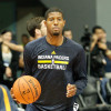 Paul George Returns to Practice