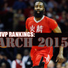 NBA MVP Rankings – March 2015