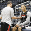 Derrick Rose Returns to Full-Contact Practice