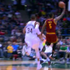 Watch: J.R. Smith lobs it up to LeBron James for the alley-oop dunk against Bucks