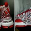 Look: Robin Lopez Freehand Draws On Damian Lillard's adidas