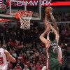 Watch: Jimmy Butler Two-handed Hammer Dunk on Zaza Pachulia