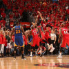 Watch: Steph Curry Forces OT With Insane Rainbow Three Pointer