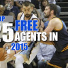 Top 25 NBA Free Agents In 2015