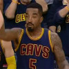 Watch: J.R. Smith Nails Ridiculous Fadeaway Three-pointer from WAY Downtown