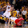 Watch: Curry and Harden With Another Epic Duel in Game 2
