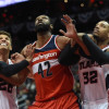 Watch: Nene Posterized Both Horford and Millsap In Game 4