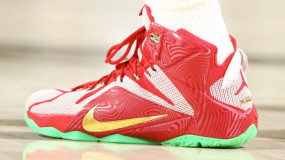 LeBron James Debuts 'Sprite LeBron Mix' LeBron 12 During Game 5 Win