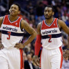 John Wall and Bradley Beal Are Banged Up