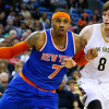 Melo Reached Out to Kristaps Porzingis