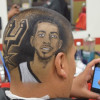 LOOK: Spurs Superfan Gets Amazing LaMarcus Aldridge Tribute Shaved Into His Head