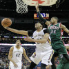 Carmelo Anthony, Anthony Davis Talked Trash to Giannis Antetokounmpo