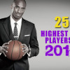25 Highest Paid NBA Players For The 2015-16 Season