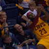 Watch: Lebron James Takes A Selfie With Sideline Fans During Game