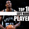 10 Best Left Handed Players in NBA History