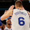 Melo Says Porzingis Will Lead Knicks Once He's Retired