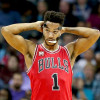 D-Rose Leaves Bulls' Win With Ankle Injury But Will Be OK