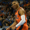 Watch: Russell Westbrook Soars High for the Vicious Putback Dunk