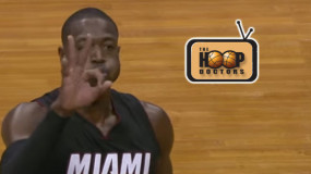 Watch: Dwyane Wade Nails the Half-Court Shot to Beat the Buzzer