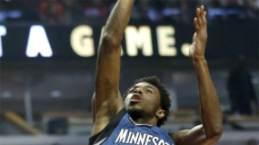 Watch: Andrew Wiggins with the Monstrous Dunk Against the Hawks