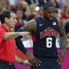 Mike Krzyzewski Wasn't Always a Fan of Coaching LeBron James with Team USA