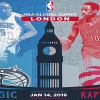 Cheers Mate! The Raptors and Magic to Play in London Thursday