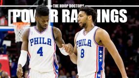 NBA Power Rankings: The Sixers Are No Longer Terribly Terrible