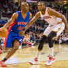 Jodie Meeks Has to Stop Practicing with Detroit Pistons