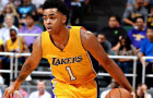 D'Angelo Russell Leaves Lakers Practice with Security