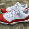 Air Jordan 11 Low Varsity Red Releases in June