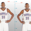Kevin Durant Has a Loose Interpretation of His Height