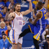 Steven Adams Suffered Injury When Draymond Green Kicked Him in the Groin