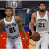 Tim Duncan Only Ages in Video Games