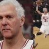 Gregg Popovich in NBA 2K is a Sight to Behold
