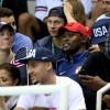 Klay Thompson Photobombs Kevin Durant & Michael Phelps